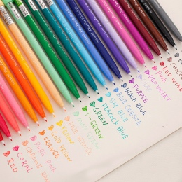 1 Pc 36 kolorów Fineliner długopisy Superfine Marker długopis na bazie wody na bazie wody dostaw sztuki Marker rysunek dla dziec