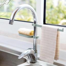 Hot Sink wiszące przechowywania uchwyt stojak gąbka łazienka kuchnia kran klip naczynie tkaniny klip półka spustowy suchy ręczni