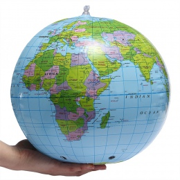 30 cm nadmuchiwana kula ziemska świat ziemi Ocean mapa piłka geografia nauka edukacyjne piłka plażowa zabawki dla dzieci biuro w