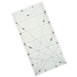 1 Pc 30*15 Cm Patchwork linijka narzędzia pikowania wysokiej klasy materiał akrylowy przejrzyste skali władca szkoła Supplie