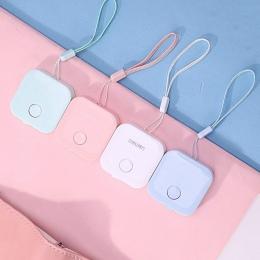 1 Pc piękny taśma miernicza Macron cukierki kolor skóry linijka Box przenośne Fashion Design szkoły dostaw