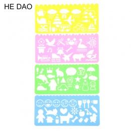 4 sztuk Korea papiernicze cukierki kolor linijka Oppssed rysunek szablon darmowa wysyłka