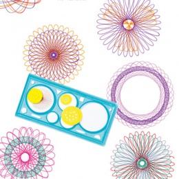 1 Pc spirograf geometryczne władca opracowanie narzędzia artykuły papiernicze dla uczniów zestaw do rysowania nauka zestawy sztu