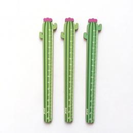 15 cm drewna kaktusów do pomiaru linijki linijka prosta narzędzie upominek promocyjny papiernicze