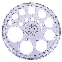 XRHYY 1 sztuk 360 stopni kątomierz koło nowoczesne mistrz szablon