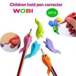 5 sztuk Partner edukacyjny dla dzieci studenci piśmienne ołówek do trzymania w ręku, urządzenie, dla, poprawka, pióro, postawa,
