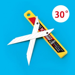 10 sztuk/pudło Deli Art Blade 30 stopni ostrze trymer rzeźby ostrze noża nóż ogólne