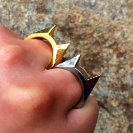 Wyłącznik palec pani broń okno pierścień walki walki przetrwania kobiet EDC narzędzie samoobrony ochrony na zewnątrz w nagłych w