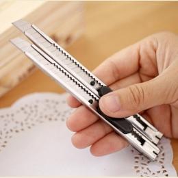 2 sztuk/zestaw sztuki nóż dostaw sztuki nóż papieru i biura nóż Diy Art nóż do cięcia papiernicze artykuły szkolne narzędzia pap