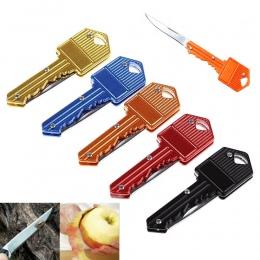 Mini kluczyk nóż brelok Fold kieszeni Pare owoców ostrze Box pakiet list otwarty skórki cięcia obóz obieraczka do na zewnątrz pr