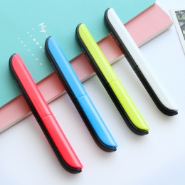 Cukierki ukryte kreatywny pióro projekt Student bezpieczne nożyczki do cięcia papieru sztuki biuro szkoły dostaw z Cap dzieci ar