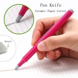 Fromthenon japonia kreatywny papier długopis nóż odporne na zużycie gazety ręcznie książki papierowe taśma ceramiczne ostrze noż