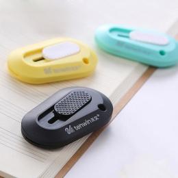 Mini narzędzie nóż kolorowe biurowe przenośny nóż bezpieczeństwa nóż do papieru szkolne
