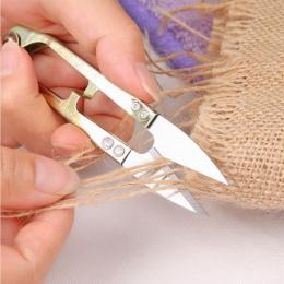 10.5*2 cm krzyż narzędzie dla majsterkowiczów krawieckie nożyczki Thrum Stitch nici do szycia linii trymer szczypce dostaw ryb S