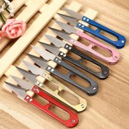 1 Pc Multicolor papiernicze nożyczki szczypce U kształt maszynki do strzyżenia stali nierdzewnej wysokiej jakości dekoracyjne no
