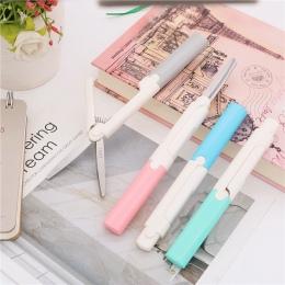 2018 w nowym stylu nożyczki przenośny papiernicze nożyczki biura i student narzędzia do cięcia papieru