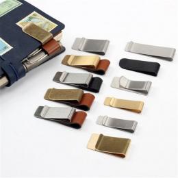 1 sztuk nowy nabytek metalowy skórzany klips na długopis długopis ze stali nierdzewnej uchwyt dla studentów dzieci notatnik pami