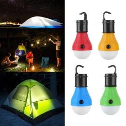 Mini przenośna latarnia oświetlenie namiotu żarówka LED awaryjne latarka magnetyczna Camping wodoodporna hak do zawieszania lata