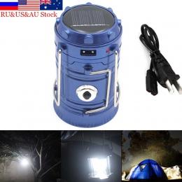 ZK50 na zewnątrz światła tylne oprawa LED 6 diod LED energii słonecznej składany przenośny LED akumulator lampa ręczna latarnia