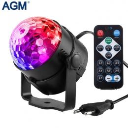 Oświetlenie dyskotekowe LED światła sceniczne DJ kula dyskotekowa Lumiere aktywowane dźwiękiem projektor laserowy lampa z efekte