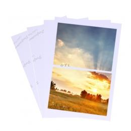 100 arkuszy błyszczący 4R 4x6 papier fotograficzny do drukarek atramentowych papier do drukarki dostaw