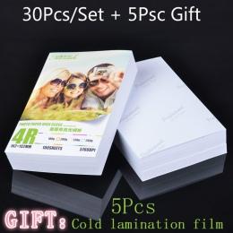 30 arkusze błyszczący 4R 6 cal 4x6 papier fotograficzny do drukarek atramentowych papier do drukarki obrazowania dostaw druk pap