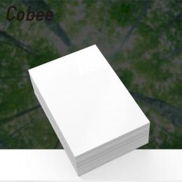 Cobee 100 pcs 5/6/7 Cal papier fotograficzny błyszczący papier do drukowania drukarki papier fotograficzny kolorowy druk powleka