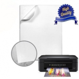 A4 biały błyszczący siebie przylepna etykieta arkusz przyklejony papier fotograficzny do drukarek atramentowych drukarki 2/10/30