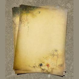 8 sztuk w stylu Vintage papier listowy papier papier do pisania list zestaw szkolne materiały biurowe