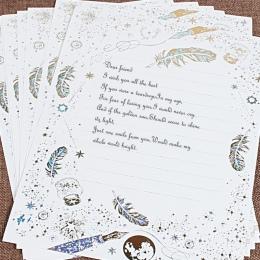 8 sztuk/partia list papieru zestaw w stylu Vintage stacjonarne biurowe pisanie prezent listy ślub mini koperty na zaproszenia eu