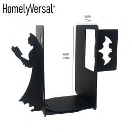 Batman proste książki szkolne studentów stojak Metal Bookends żelaza uchwyt podporowy biurko stoi na szkoły papiernicze i biurow