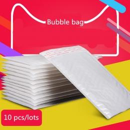 10 sztuk/paczka, 120*180mm wodoodporna biała perła bańka koperta torebki wysyłkowe