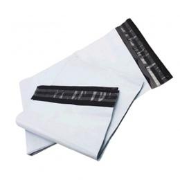 Jasnoszary torba kurierska 10 sztuk samoprzylepne kurierskiego z tworzyw sztucznych poli koperta pocztowa wodoodporna pocztowych