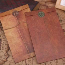 Coloffice w stylu Vintage koperta 10 sztuk/partia kreatywny papier pakowy koperty DIY dekoracyjne koperta mały papier szkolne ma
