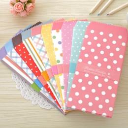 20 sztuk/partia Korea Cute Cartoon Mini papier kolorowy koperta Kawaii małe dziecko zestaw do pakowania prezentów koperty na ślu
