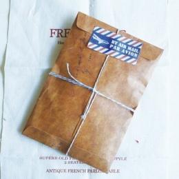 10 sztuk/partia vintage kraft wosk koperty ślubne invatate koperta pocztówka pokrywa sobres papel biurowe zakka prezent