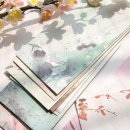5 sztuk/partia rocznika krajobraz koperta pocztówki kartkę z życzeniami papier pakowy koperty papiernicze artykuły szkolne preze