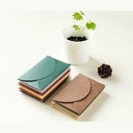 Nowy 10 sztuk/partia w stylu Vintage romantyczny Mini koperta papierowa DIY prezent