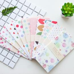 20 sztuk/partia koreański Cute Cartoon koperta papierowa Mini małe dziecko dla dzieci zestaw do pakowania prezentów koperty na ś