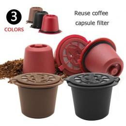 Wielokrotnego użytku wielokrotnego użytku Nespresso kapsułki z 1 PC łyżka z tworzywa sztucznego filtr Pod do oryginalnej linii S