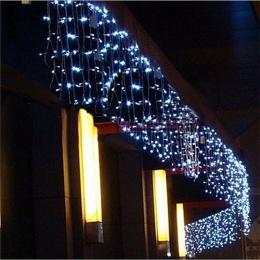 LED kurtyna sopel ciąg światła 220 V 5 m 96 diod LED boże narodzenie wieniec LED Faiy Xmas Party ogród etap na świeżym powietrzu