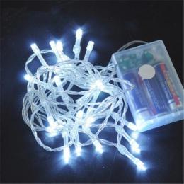 10/20/40/80/160 AA zasilanie bateryjne LED String światła na boże narodzenie Garland dekoracja na przyjęcie ślubne boże narodzen