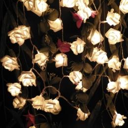 YIYANG 2 M 20 róż girlanda z kwiatów LED String wakacje światła cicha sympatia urodziny Wedding Party Decoration gospodarczej ba
