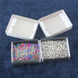 750 sztuk/pudło kolorowe biuro standardowe pin DIY igły koralik szpilki ozdoby głowica kulowa pins darmowa wysyłka