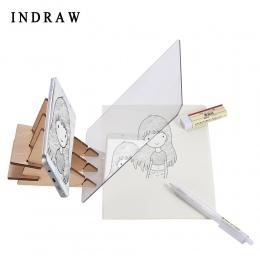 Indraw szkic tablica do pisania śledzenia podświetlana podkładka z aplikacją artefakt dla początkujących studentów dla dzieci ry