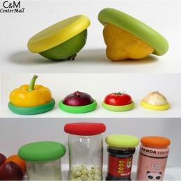 Żywności oznacza warzyw Huggers świeże silikonowe pojemniki do przechowywania pamiętając, lessFruit odpadów na co dzień wielokro