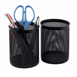 1 sztuk wysokiej jakości pióro uchwyt biurowe organizator okrągły kosmetyczne ołówek posiadacze biurowe pojemnik materiały biuro