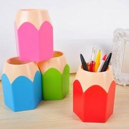 Kreatywny długopis wazon ołówek Pot makijaż uchwyt na szczotkę biurko biurko schludny pojemnik AIZB