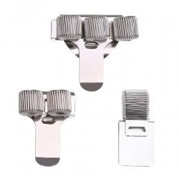 1 PC pojedyncze/podwójne/potrójne otwór metalowy uchwyt na długopisy z kieszenią na klipsy lekarze strój pielęgniarki długopisy