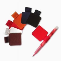 3 sztuk samoprzylepne skórzane pióro klip ołówek Pętla elastyczna do notebooków czasopisma schowki uchwyt na długopis